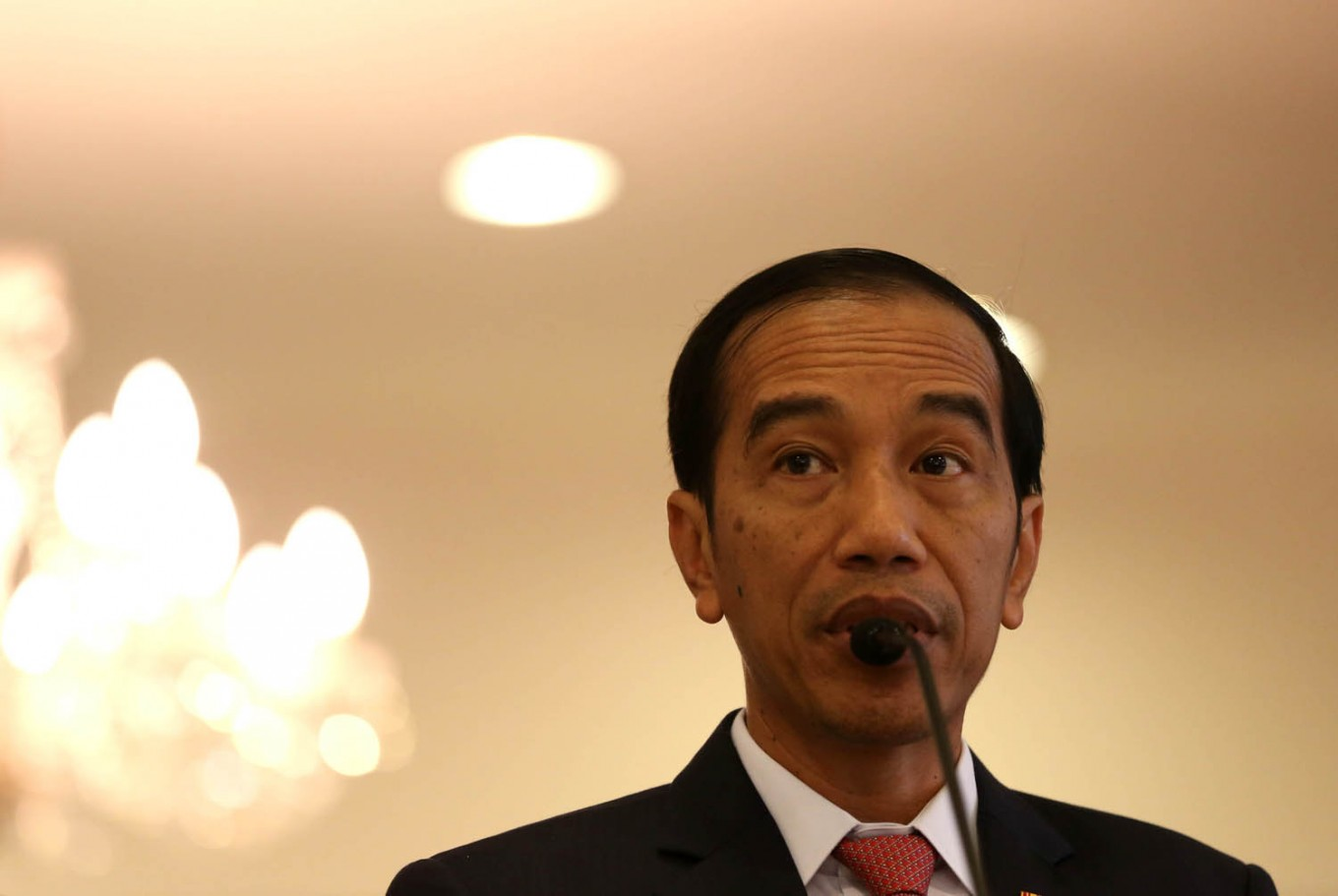 Jokowi congratulates new US President Donald Trump