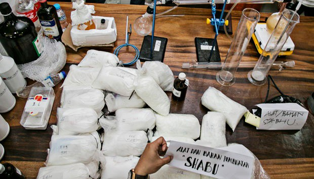 Indonesian nabbed in Philippines for US$1M meth possession