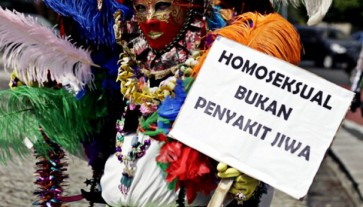 Double standards: The defining of homosexuality as pornographic in Indonesia