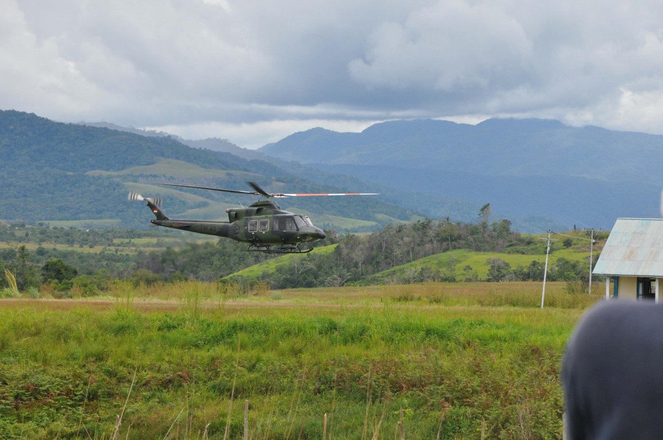 Army helicopter goes missing in Papua