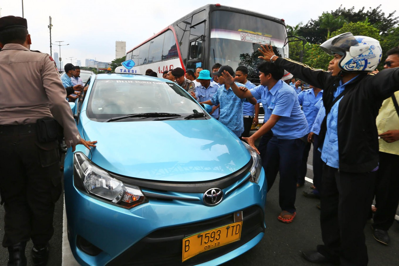 Blue Bird will give free taxi ride on Wednesday following riot protest