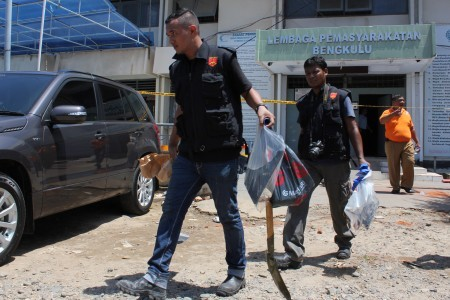 17 inmates named suspects in Bengkulu prison fire