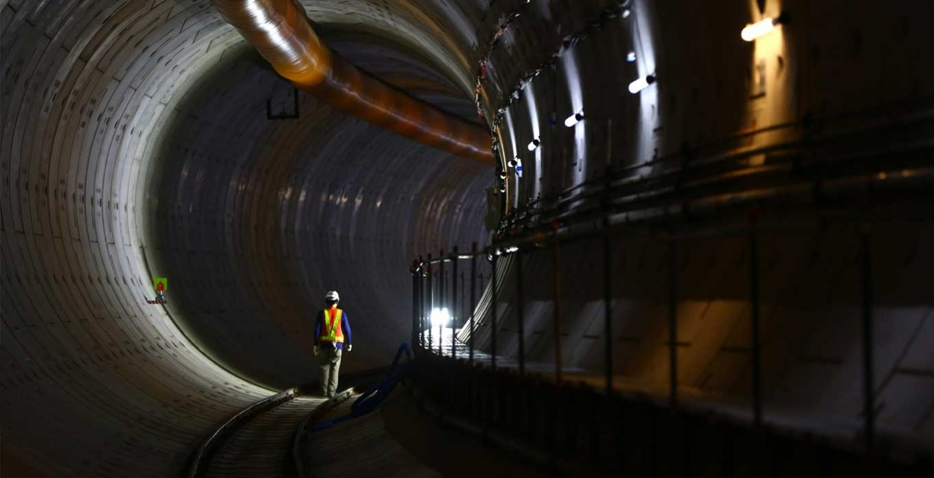 Digging the city: MRT Tunnel Jakarta