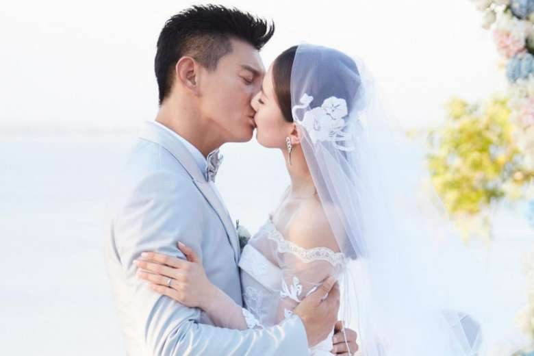 Nicky Wu sings at his own wedding, confesses his love for bride
