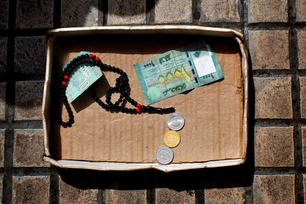 Lebanon Syrian Beggar