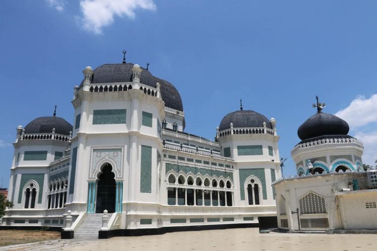 Masjid Raya Medan (Great Mosque of Medan)