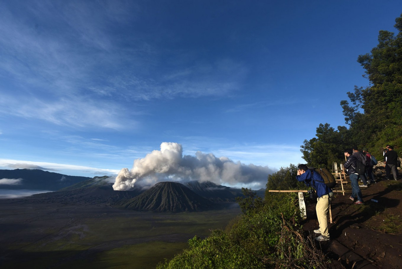 Swiss national reported missing on Mt. Semeru