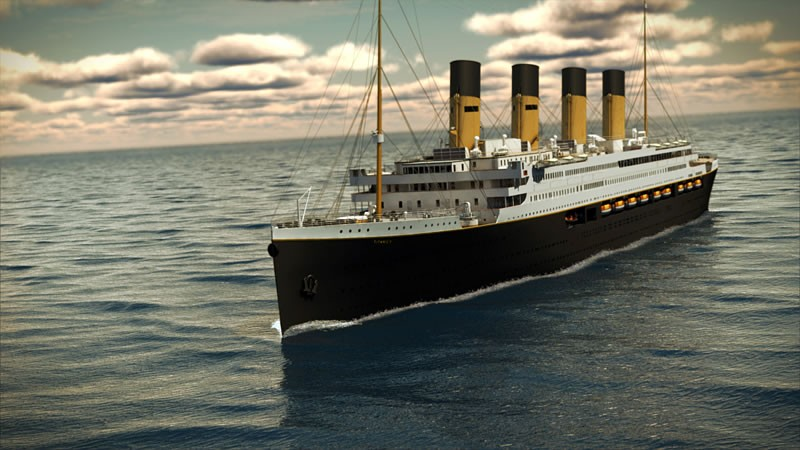 Full-size replica of Titanic to sail in 2018