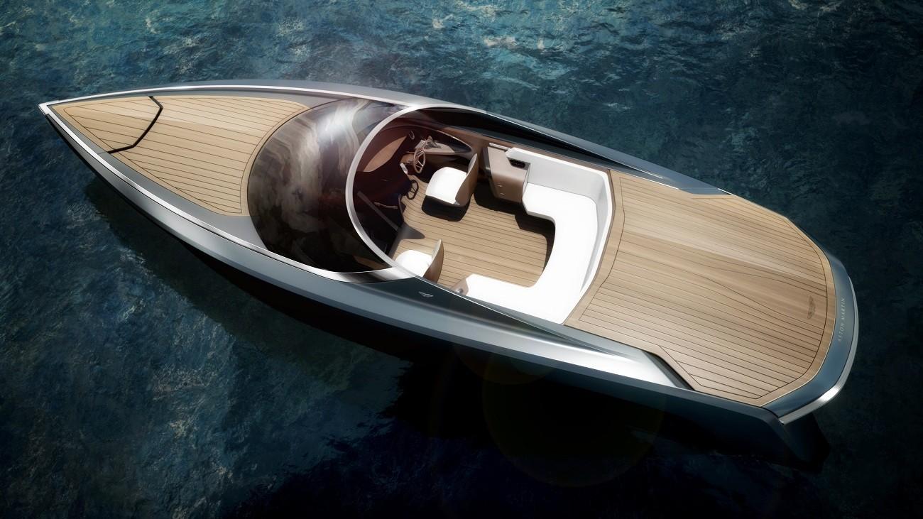 Aston Martin unveils convertible powerboat