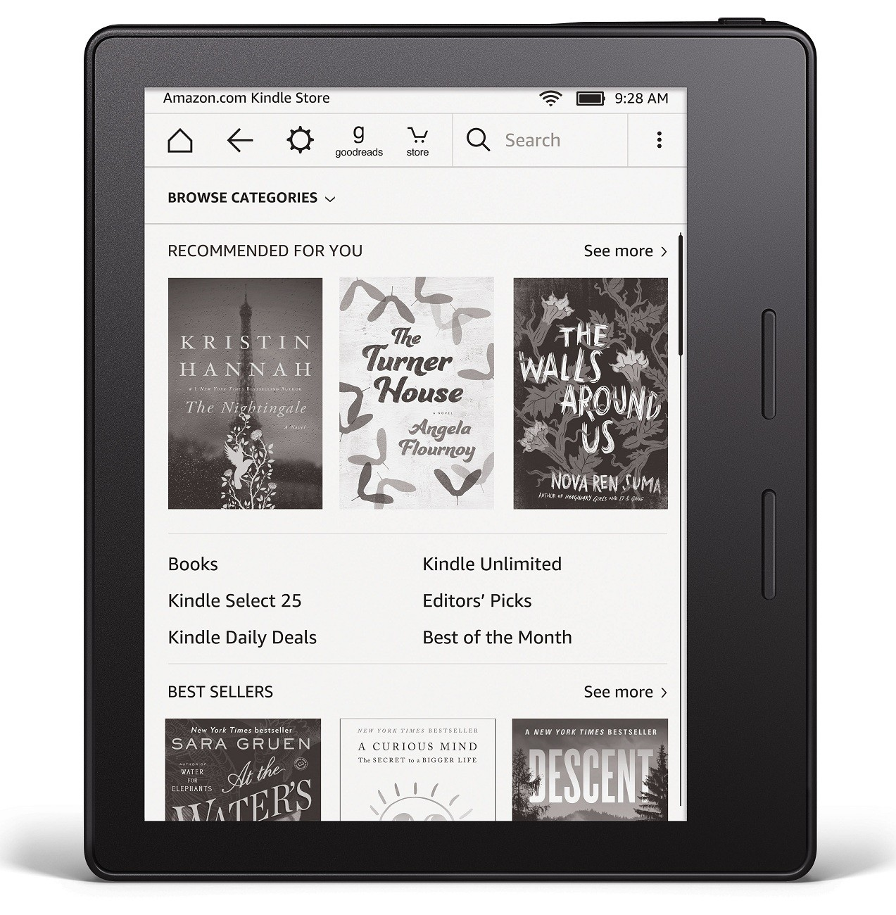 Amazon's latest Kindle mostly wants to disappear - Science & Tech