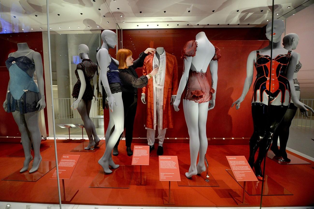 8c96a9a51e London s V A museum reveals a brief history of underwear - Art ...