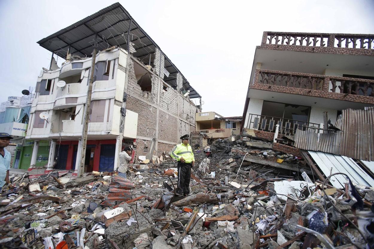Ecuador Deadly Quake