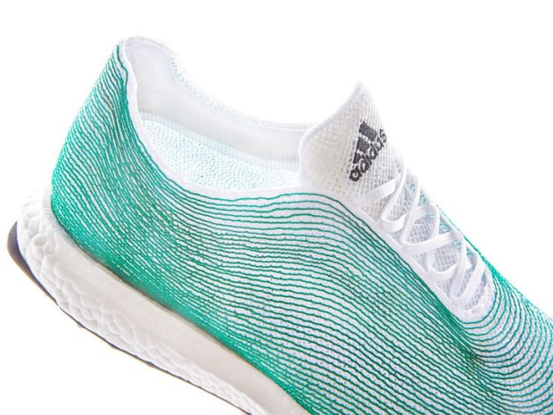 Adidas releases products made out of plastic pulled from the