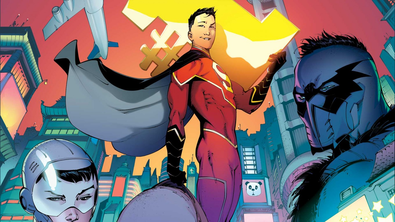 DC to introduce Chinese 'New Super-Man' - Art & Culture - The ...