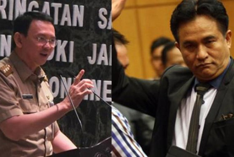 Yusril tells judges to reject Ahok's judicial review