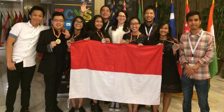 Indonesian students win awards at 2016 ICYS