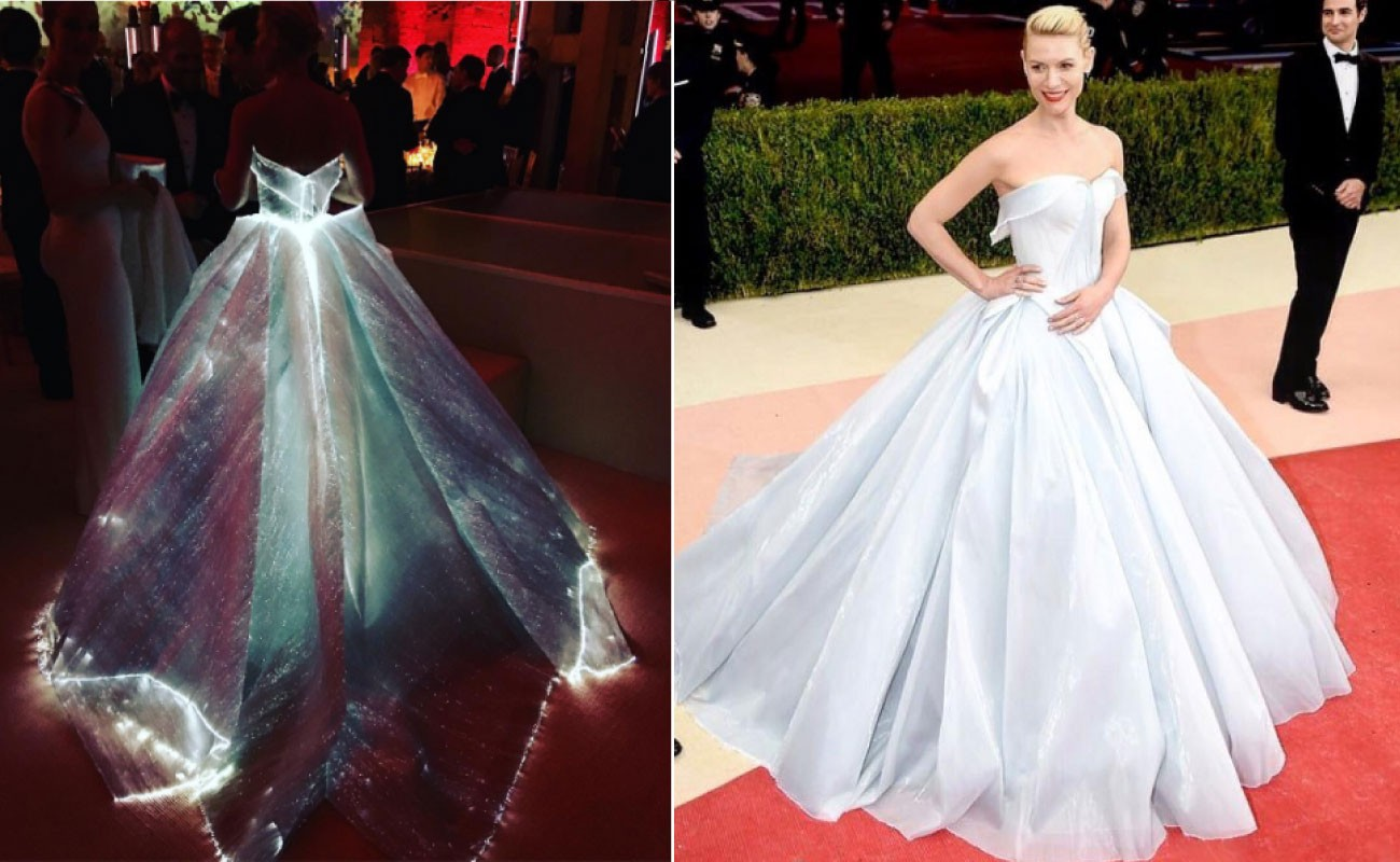e8a6c2386 Claire Danes literally glows in Zac Posen - Lifestyle - The Jakarta Post