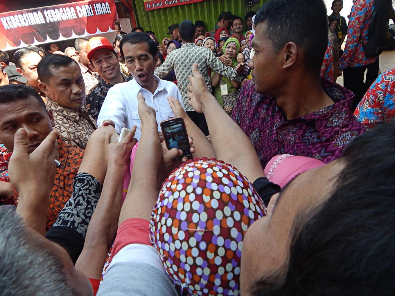 Jokowi highlights market hygiene, sanitation during visit