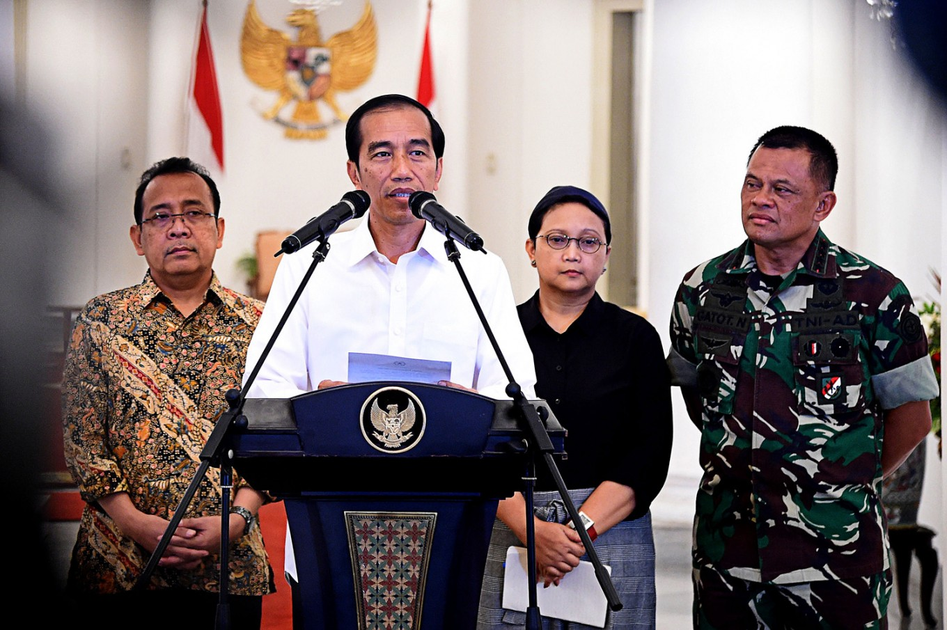 Indonesia, Malaysia, Philippines sign maritime security declaration