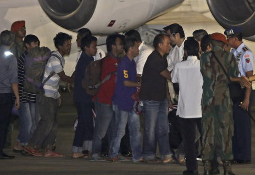 Freed hostages ready to return to Indonesia
