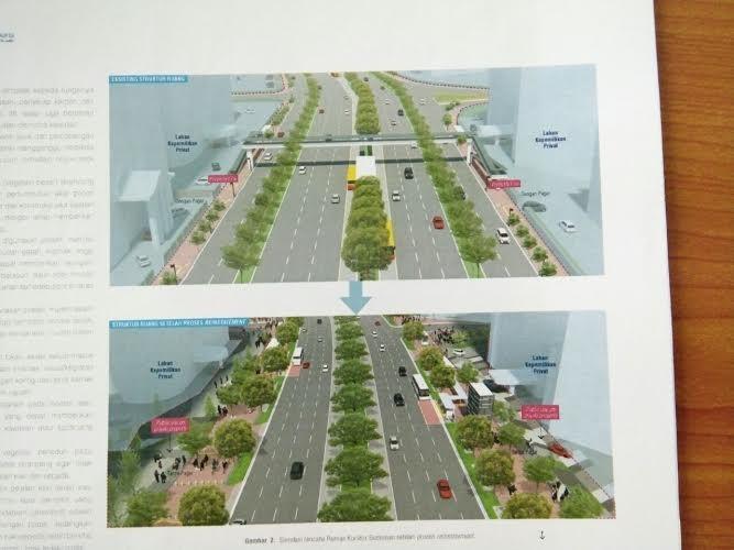 Jakarta to get world-class sidewalks: Ahok