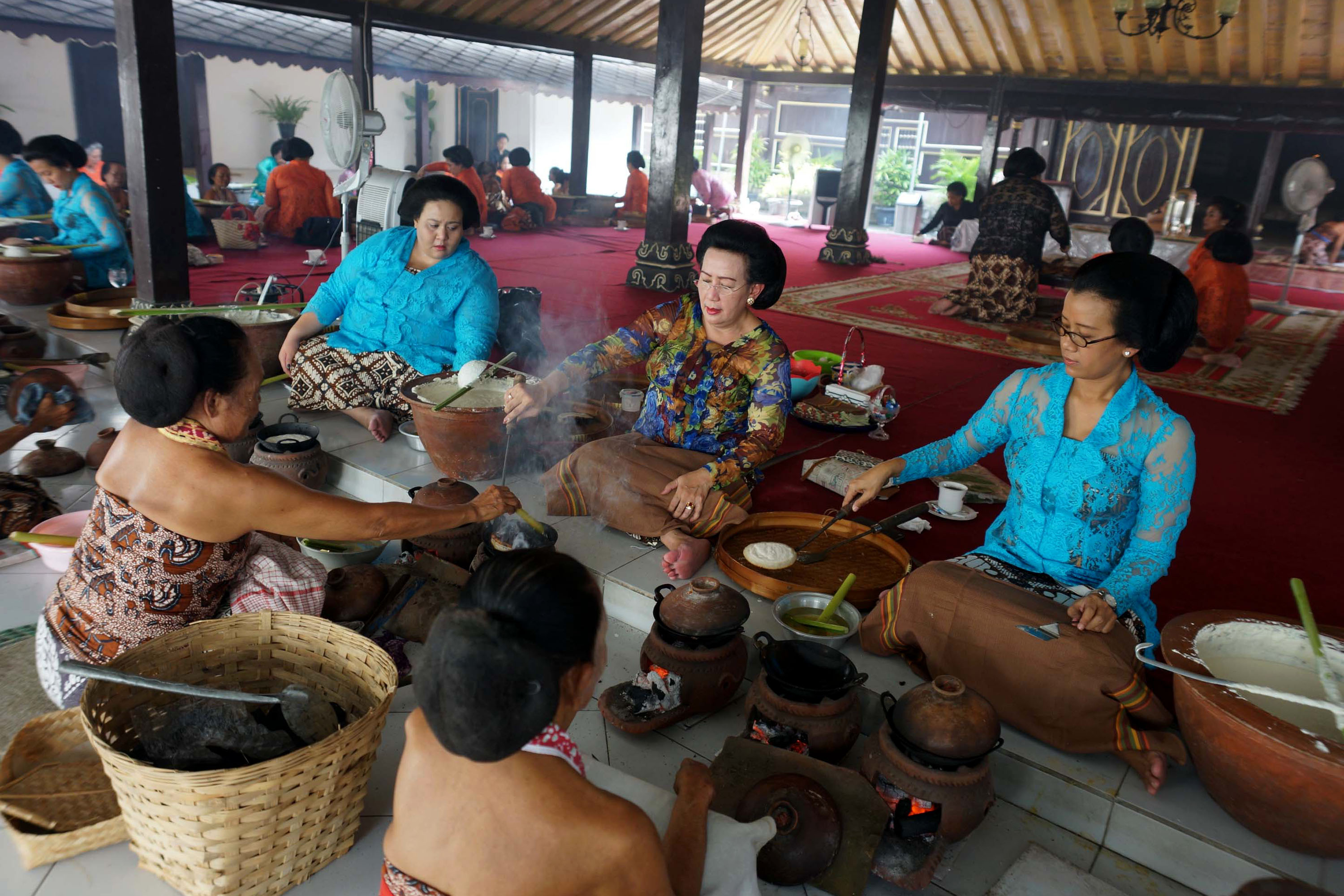 The Labuhan ceremony: harmony between men, nature and God