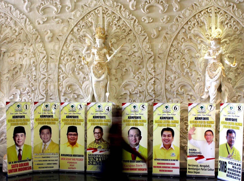 Veteran Setya Novanto wins Golkar Party's top post