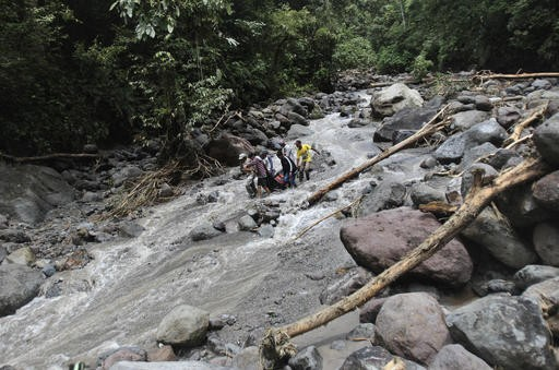 17 people killed, 4 missing in western Indonesia floods