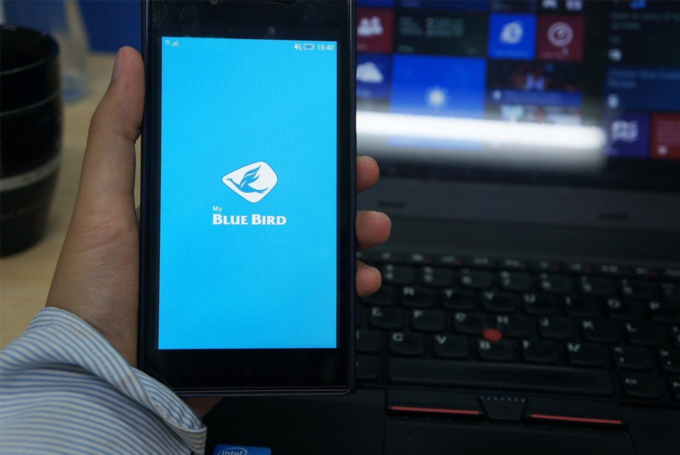 Blue Bird updates app to catch up to competition