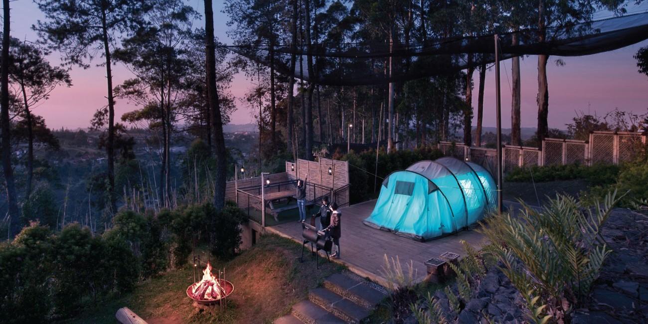 Sayang Heulang at Dusun Bambu.