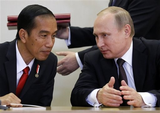 Indonesia turns to Russia for weaponry