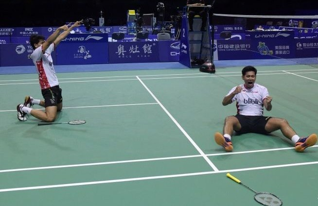 Indonesia vs Denmark in Thomas Cup final for 5th time