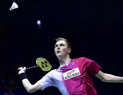 Denmark tops Indonesia to win 1st Thomas Cup badminton title