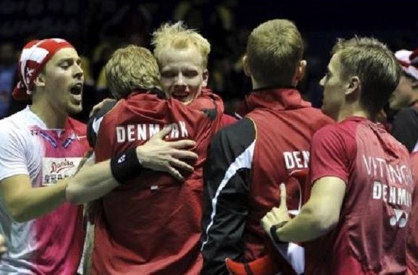 Indonesia's Thomas Cup hopes buried as Denmark records historic win