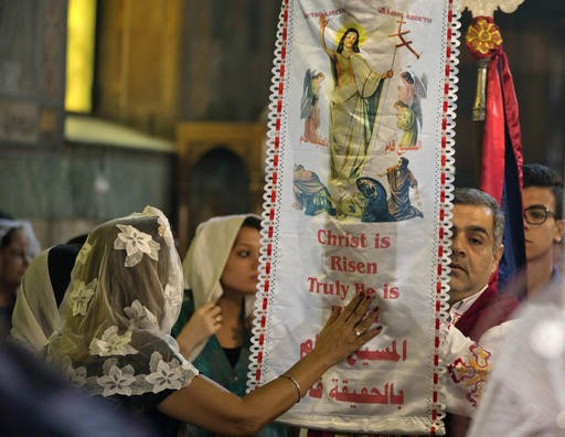 Egypt Coptic church suspends Easter Holy Week services over virus