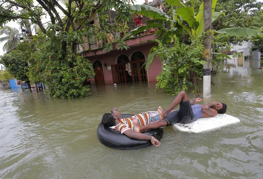 Death toll from weeklong storms in Sri Lanka rises to 92