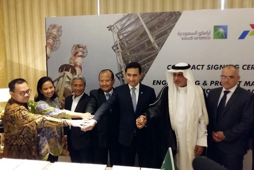 Pertamina, Saudi Aramco kick off Cilacap refinery upgrade