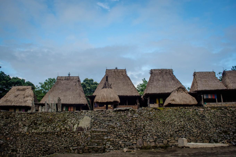 Strolling through megalithic village of Bena