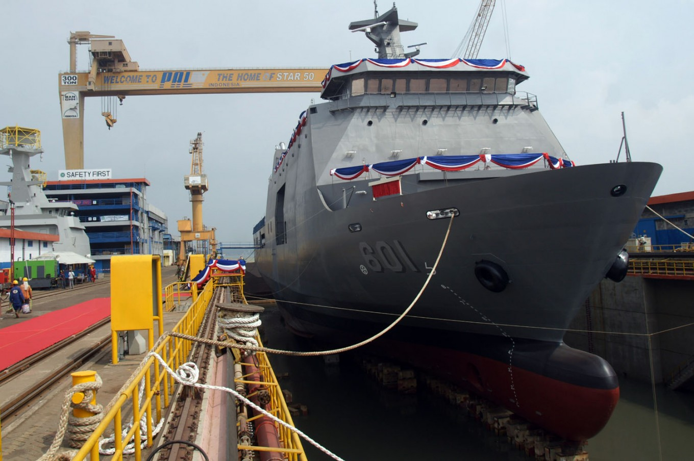 PAL Indonesia expands into warships
