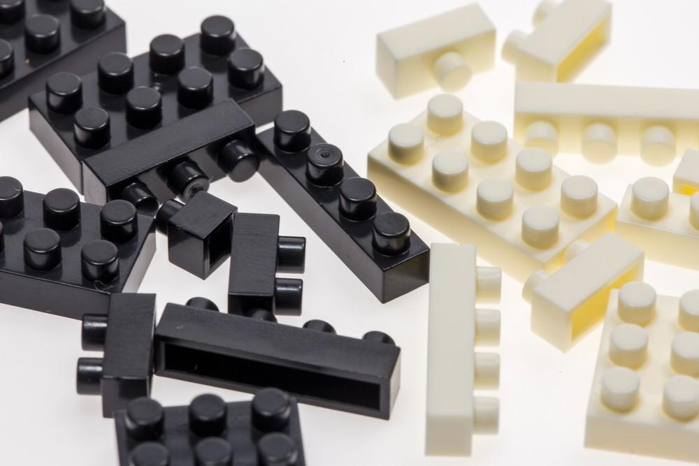 Lego, interlocking plastic bricks, are available in vast range of shapes and sizes.