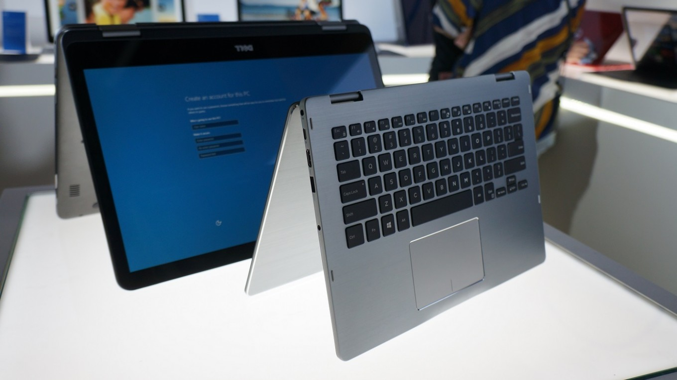 Dell Launches Worlds First 17 Inch 2 In 1 Laptop At