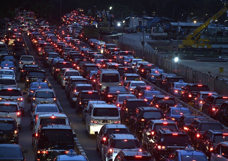 Jakarta's traffic worsens in 2017: Survey