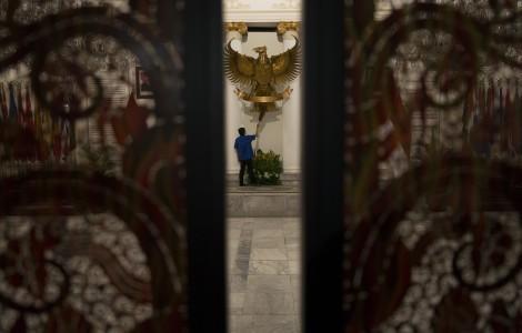 Unbalanced wings of Indonesian politics