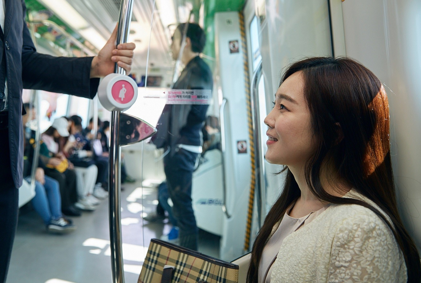 South Korea uses technology to help pregnant women get seats