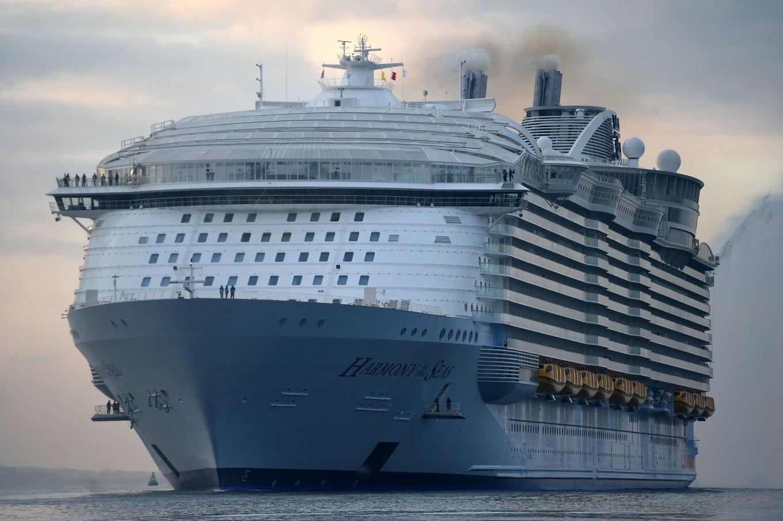 Barcelona, ahoy! World's biggest cruise ship docks in Spain
