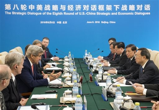 China, US agree to work together on climate crisis