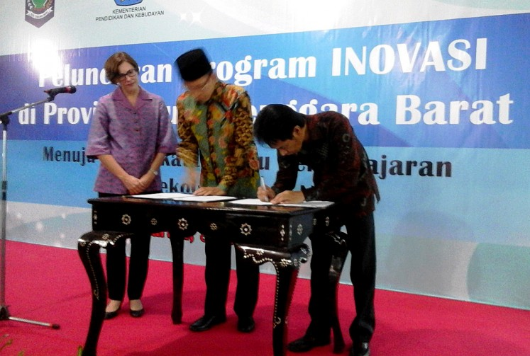 Australia-funded education program kicks of in W. Nusa Tenggara