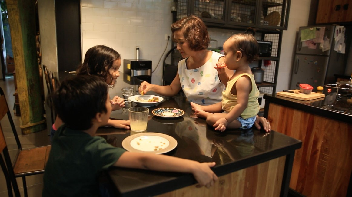 At Home With - The Sasonos Family