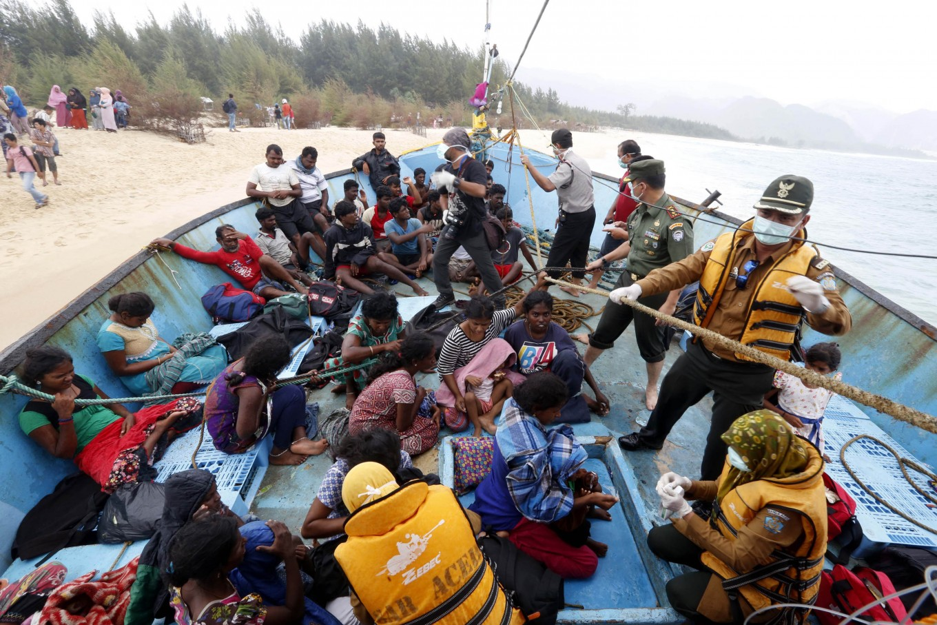 NGO calls for govt to help Tamil asylum seekers stranded in Aceh