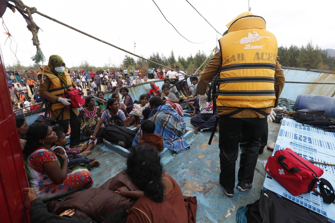 'We are tired of waiting': Asylum seekers in Medan demand immediate resettlement